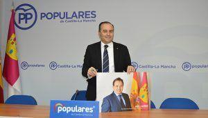 """Gregorio convencido de que el PP ganará las elecciones en CLM, """"porque tenemos al mejor líder, Paco Núñez, y al mejor aliado, que es la sociedad castellano-manchega"""""""