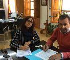 Herrera firma de las obras de rehabilitación del Archivo Histórico y del patio de la Iglesia Jesuita