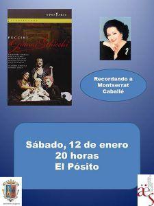 Homenaje a Montserrat Caballé para comenzar el año en 'Vive la Opera en Sigüenza'