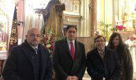 La Corporación Municipal del Ayuntamiento de Cuenca asiste a la misa de San Antón