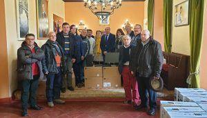 La Diputación de Guadalajara continúa renovando los equipos informáticos de los ayuntamientos con una nueva entrega en la zona de Sigüenza
