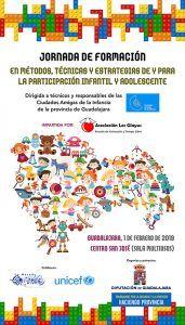 La Diputación de Guadalajara organiza una jornada de formación sobre 'Ciudades Amigas de la infancia' para técnicos y concejales de la provincia
