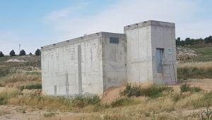 La finalización de la construcción del Depósito en el polígono industrial el Borbotón, una de las actuaciones más acertadas en Huete en 2018
