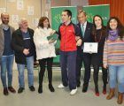 La Fundación Eurocaja Rural entrega el premio 'Tiempo de Navidad' a un alumno del 'CEE BIOS' de Talavera
