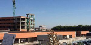 La Junta asegura que las obras de ampliación del Hospital Universitario de Guadalajara ya están ejecutadas al 53 por ciento