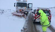 La Junta dispone de 4.000 toneladas de sal, 31 vehículos y más de un centenar de efectivos para hacer frente a la nieve en Cuenca
