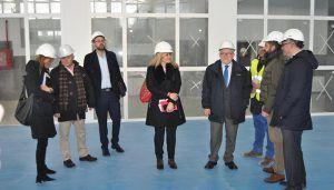 La Junta finaliza las obras del IES 'Alfonso VIII' de Cuenca el 28 de febrero y espera respuesta del Ayuntamiento sobre el acceso y el parking