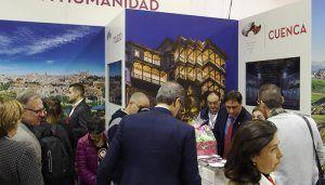 La presencia de Cuenca en FITUR ha sido récord por el número de visitas y por la excelente acogida de sus propuestas