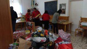 La solidaridad desborda a Cáritas Parroquial Cristo del Amparo tras el robo:15.000 euros en juguetes nuevos