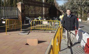 Las actuaciones para mejorar la seguridad vial de Santa María Micaela y Francisco Aritmendi avanzan a buen ritmo