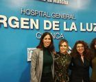 Las residentes de matronas de la Gerencia de Cuenca presentan sus revisiones de evidencias científicas en una Sesión General