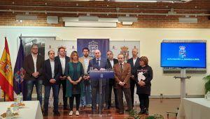 """Latre """"La gestión económica responsable nos permite continuar con la mayor inversión para los pueblos conocida en esta Diputación"""""""