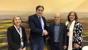 Mariscal se reúne con el presidente de la Academia de Cultura Gastronómica de Castilla-La Mancha