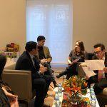 Mariscal se reúne con el responsable de Cultura del Estado mexicano de Campeche