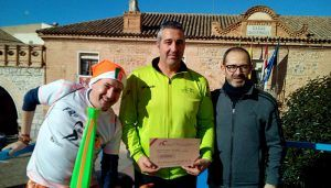 Miguel Ángel Tapetado Díaz-Tendero fue el afortunado ganador del fin de semana turístico en Sigüenza que sorteó Red-Corriendo el Medievo