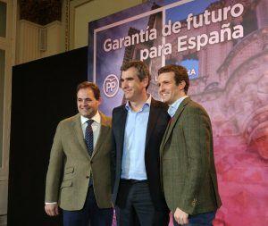 Pablo Casado visitará esta tarde el Centro de Empresas de Guadalajara