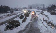 Protección Civil y Emergencias alerta por nevadas intensas y vientos fuertes a partir de mañana martes