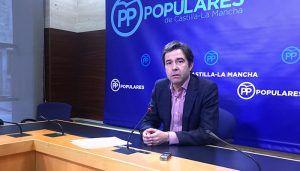 Robisco destaca la ilusión del PP de Núñez, que cuenta con los mejores candidatos, frente al PSOE de Page al que dicen que no