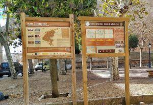 San Clemente ya cuenta con señalización urbana del Camino de Santiago