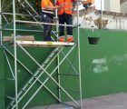 Un taller de empleo con ocho alumnos recupera espacios en Brihuega