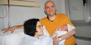 Vera Herraiz Ferrandis, primera conquense nacida en 2019 en el Hospital Virgen de la Luz