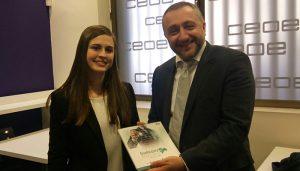 """""""Guadalajara Empresarial"""" se reúne con el embajador de Georgia en España, Ilia Giorgadze"""