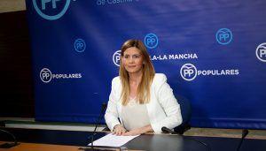 Agudo califica de éxito rotundo la participación de la delegación del PP-CLM, encabezada por Paco Núñez, ayer en la concentración en Madrid, ante la traición de Sánchez