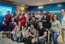 Alumnos de la Escuela Politécnica de Cuenca visitan el Centro de Demostraciones de Telefónica en Madrid