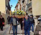 Brihuega celebra San Blas con una misa cantada y procesión