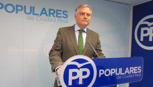 """Cañizares """"Page, en las Cortes, hace lo de siempre apoyar a Sánchez y unirse a Podemos en contra de los intereses de España"""""""