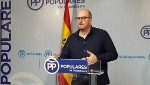 """Castillo """"Los guadalajareños tenemos que movilizarnos contra la humillación de Sánchez a todos los españoles"""""""