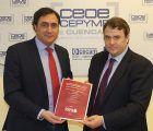 CEOE CEPYME Cuenca entrega a Mariscal el informe de fiscalidad reducida realizado por la SSPA y los GAL