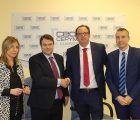 CEOE-Cepyme Cuenca y Banco Santander firman un convenio de colaboración financiera