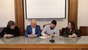 Comienzan las obras de rehabilitación de la Real Fábrica de Paños a cargo del 1,5 por ciento cultural