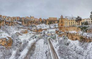 Cuenca está en el top 10 de las ciudades donde más nieva en España