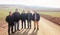 Diputación de Cuenca y Junta de Comunidades acometen la mejora de dos caminos en Puebla de Almenara y Almonacid del Marquesado