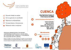 El 6 de marzo finaliza el plazo para inscribirse a la II Lanzadera de Empleo de Cuenca