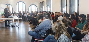 El alcalde de Guadalajara participa en una jornada sobre trata de seres humanos