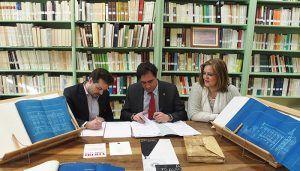 El Ayuntamiento de Cuenca cede varios documentos para la exposición sobre arquitectura modernista del Colegio de Arquitectos