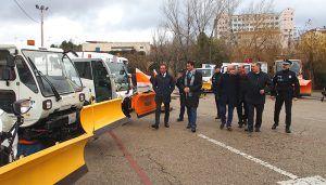 El Ayuntamiento de Cuenca logra la mayor cantidad de medios y material contra la nieve con la incorporación de 11 vehículos