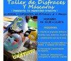 El Ayuntamiento de Guadalajara organiza un taller de maquillaje de fantasía y otro disfraces y máscaras