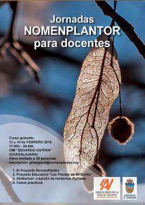 El Ayuntamiento de Guadalajara organiza unas Jornadas Nomenplantor para docentes