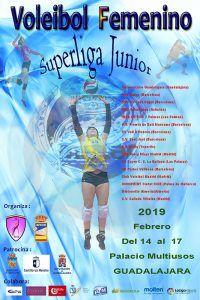 El mejor voleibol femenino de España, este fin de semana en el  Palacio Multiusos de Guadalajara