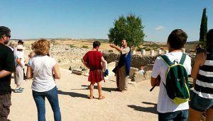 El Parque Arqueológico de Segóbriga cierra el mejor mes de enero en número de visitantes de los últimos trece años