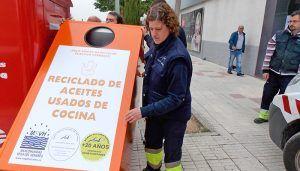 El trabajo conjunto de la Vega del Henares y AFAUS quintuplica el volumen de aceite usado recogido en el Corredor desde 2014