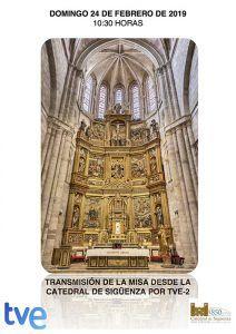 Este domingo, La 2 retransmite la Misa de 'El Día del Señor' desde la Catedral de Sigüenza