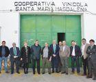 Eurocaja Rural traslada su respaldo a la Sociedad Cooperativa Vinícola Santa María Magdalena de Mondéjar