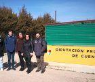García Casado muestra a Podemos Cuenca las mejoras acometidas en el Albergue Provincial de Animales