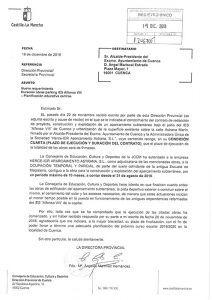 """Godoy: """"La Junta no ha recibido ninguna comunicación del Ayuntamiento diciendo que se puede abrir el IES """"Alfonso VIII"""" porque las obras del aparcamiento van a terminar en plazo"""""""