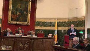Javier Sanz presenta en la RANM su 'Diccionario biográfico histórico de dentistas'